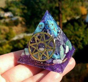 Ishtar Star Orgonite Pyramid for Sale in Spokane, WA