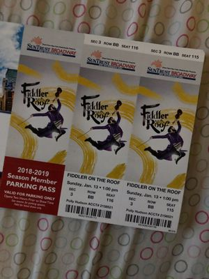 Fiddler On the Roof!! for Sale in Durham, NC