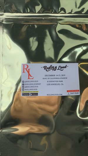 ROLLING LOUD VIP 2 Day Ticket for Sale in Rialto, CA