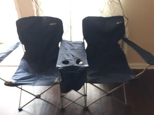 Very Good Condition Double Maccabee Camping Chairs with Bag for Sale in Houston, TX