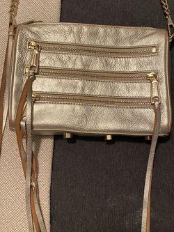 Gold Rebecca Minkoff Bag for Sale in Carrollton,  TX