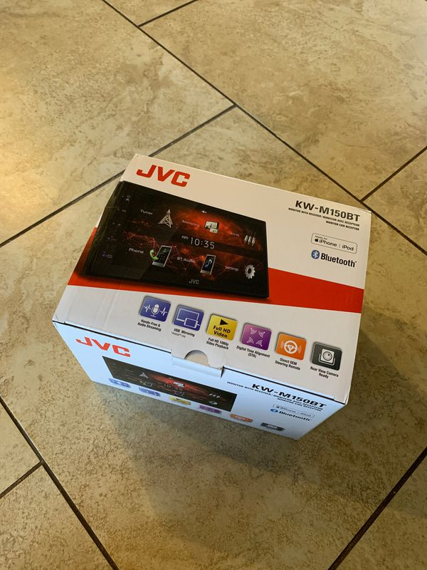 Brand New JVC KW-M150BT Stereo Receiver
