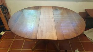Antique table with chairs solid wood for Sale in Austin, TX