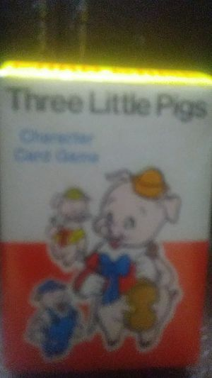 Walt Disney Three Little Pigs playing cards for Sale in Tempe, AZ