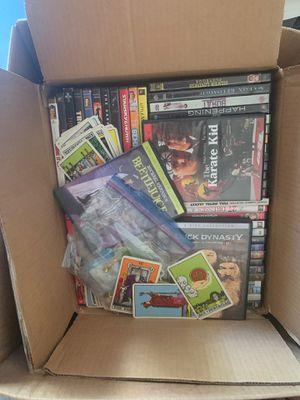 Box of random DVD's. for Sale in Portland, OR
