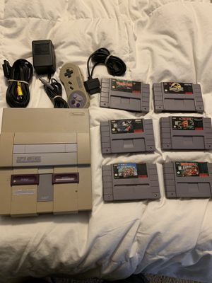 Super Nintendo and games for Sale in Fort Worth, TX