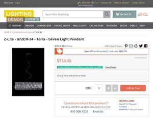 Mordern 7 light chandelier for Sale in Glenarden, MD