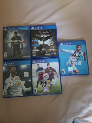 Ps3 and Ps4 videogames for Sale in Sugar Land, TX