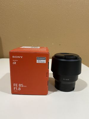 Sony 85mm f1.8 Lens for Sale in Westminster, CA