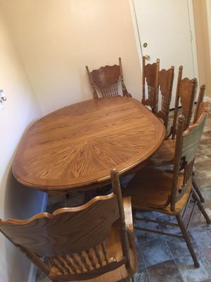 Wooden chair and tables for Sale in St. Louis, MO