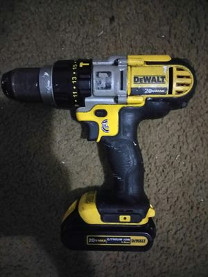 DeWalt 20v Drill with battery pack for Sale in Washington, DC