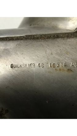 Propeller Stainless Steel Quicksilver 14.5 x 17P for Sale in Baldwin,  NY