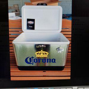 Coleman Corona 54 quart stainless steel cooler for Sale in Phoenix, AZ