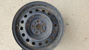 2003-2008 Toyota Corolla 15 Inch 5 Lug Black Steel Rim Fits R15 Tire - Exact OEM Replacement for Sale in Ann Arbor, MI