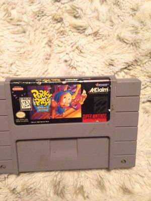 Porky pigs haunted holiday SNES for Sale in Woden, IA