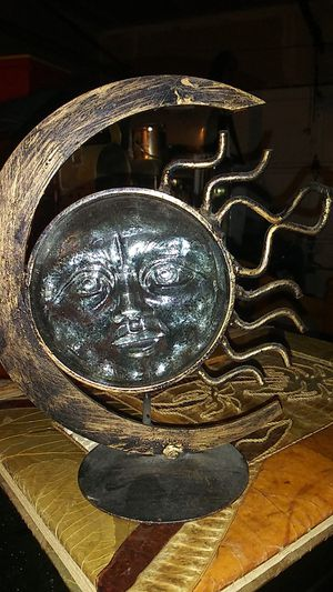 Metal sun candle holder for Sale in Tacoma, WA