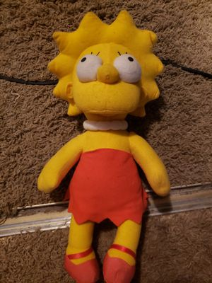 Lisa Simpson Teddy Bear Doll for Sale in Lakeside, CA