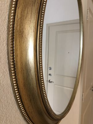 "Gold wall mirror- 30"" for Sale in Alexandria, VA"