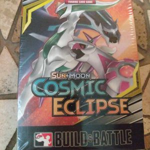 Brand New Pokemon Sun And Moon Cosmic Eclipse Build A Battle Deck Unopened Mint Condition for Sale in Orlando, FL