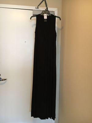 Rachel Zoe long maternity dress, black, , M, like new for Sale, used for sale  Arlington, VA
