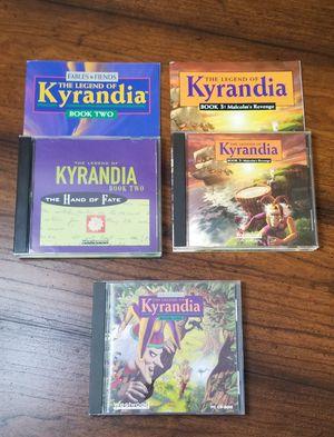 Kyrandia Book 1,2,3 PC games for Sale in Marysville, WA