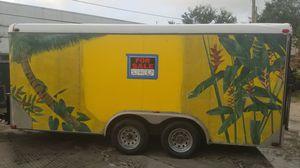 Suncoast enclosed trailer. for Sale in Delray Beach, FL