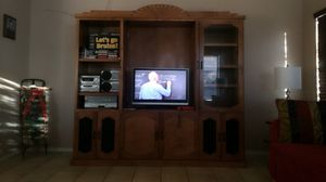 Entertainment center/ storage for Sale in Peoria, AZ