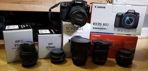 Canon 80D for Sale in Portland, OR