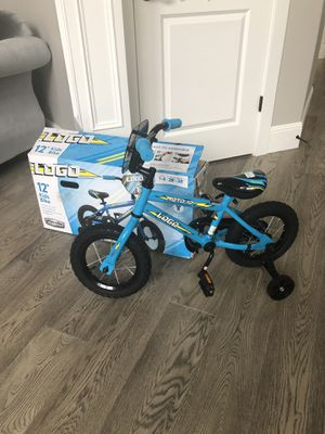 "New 12"" kids bike with training wheels for Sale in Vancouver, WA"