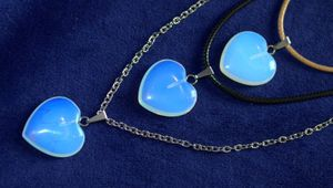 💙Moonstone opal necklace stones heart shaped 💙 for Sale in Davie, FL