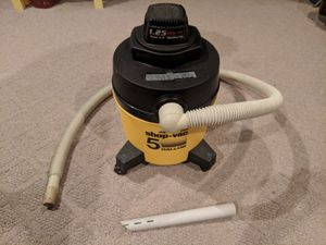 5 gallon Shop-vac wet/dry vacuum for Sale in Gaithersburg, MD
