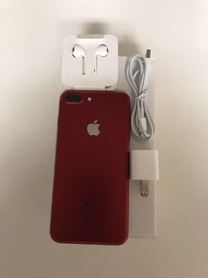 iPhone 7 Plus red 128gb ATT for Sale in West Valley City, UT