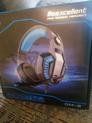 Beexcellent GM-2 Wired 3.5mm Gaming Headset, Headphones for Sale in Richardson, TX