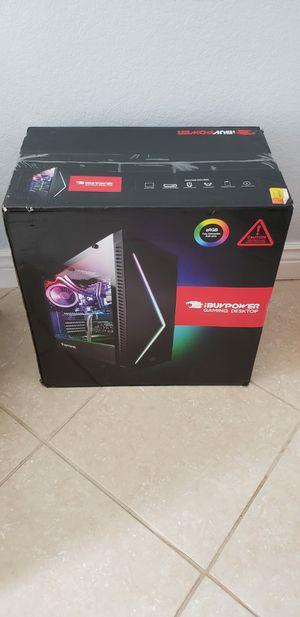 Brand New iBUYPOWER Gaming Desktop PC: i7-9700, GTX 1660Ti, 16GB RAM, SSD+HDD, RGB, Sealed Box for Sale in Pembroke Pines, FL
