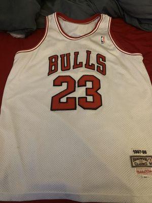 Chicago bulls Micheal Jordan throwback jersey for Sale in Johnston, RI
