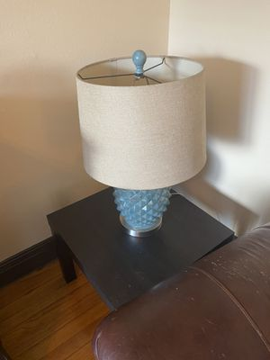 Blue Lamp for Sale in Tampa, FL