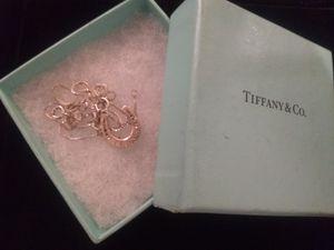 Tiffany & Co. Super Rare lucky horseshoe pendant .925 for Sale in Vancouver, WA