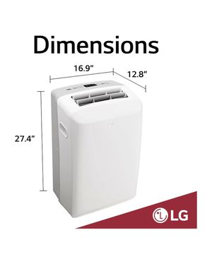 LG Electronics Portable Air Conditioner, 115-Volt w/ Dehumidifier Function and LCD Remote for Sale in South El Monte, CA