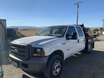 2005 F350 Diesel Flatbed Truck for Sale in Livermore,  CA