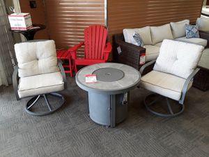 3 pc firepit table for Sale in Phoenix, AZ