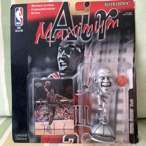 1999 Mattel air maxima Michael Jordan silver edition pack for Sale in Summit, NJ
