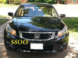 🔑🔥URGENT $8OO Very nice 2OO9🔑 Honda Accord Sedan V6 EX-L 𝓹𝓸𝔀𝓮𝓻 𝓢𝓽𝓪𝓻𝓽 Run and drive very smooth🔑 for Sale in Arlington, VA