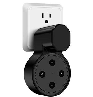 Miracase Outlet Wall Mount Hanger Stand for Alexa Dot 2nd Generation,Space-Saving Solution for Your Smart Home Speakers Without Messy Wires or Screws for Sale in McLean, VA
