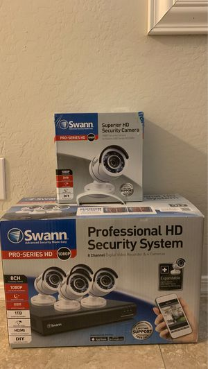 Swann Security System 5 camera 1080p *Brand New* for Sale in Tempe, AZ