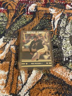 Mike Mussina Leaf Orioles Card for Sale in Fort Washington,  MD