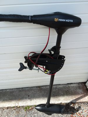 Minn Kota trolling motor for Sale in Pompano Beach, FL