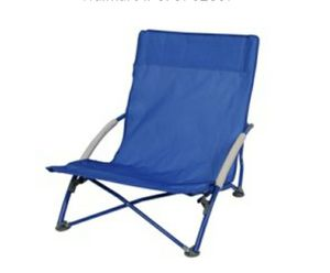 New Camping Outdoors Low Profile Folding Chair with Carry Bag, 225 lb weight capacity for Sale in Glendale, AZ