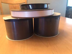 Satin Ribbon - 4 Rolls for Sale in Orange, CA