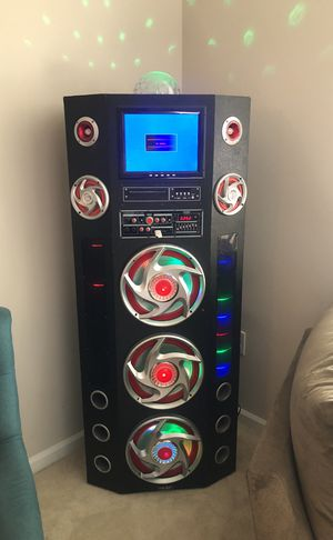 Speaker box karaoke for Sale in Clarksburg, MD