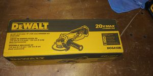 DEWALT 20-Volt MAX Lithium-Ion Cordless 4-1/2 in. to 5 in. Grinder (Tool Only) for Sale in Atlanta, GA